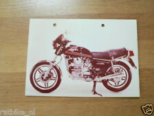 HONDA PRESSE PHOTO CX500 PH588