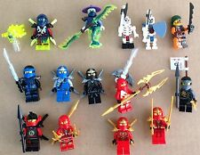 Lego Ninjago lot mini figures Ninja Ghost Skeleton Pirate Weapons new out of box
