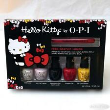 OPI Hello Kitty Friend Pack 5 Mini Nail Lacquer Polish & Art Tool Set Boxed NIB