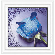5D DIY Rose Flower Embroidery Diamond Painting Cross Stitch Kits Home Decoration