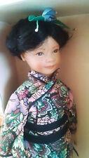 Heidi Ott - MIDORI - Handmade Swiss design  Doll Human Hair M53 NIB
