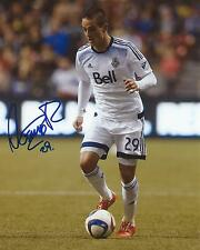 Octavio Rivero Signed 8×10 Photo Vancouver Whitecaps FC Soccer Autographed COA