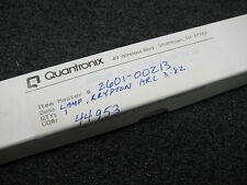 Krypton Laser Arc Lamp Quantronix 2601-00213 FKQ963-3.82 100mm Arc Length 5mmOD