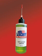 4 oz Bottle of 100% Synthetic Oil for lubricating your Vintage Pinball Machines