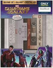 Super Rare Best Buy Exclusive Steelbook Guardians of the Galaxy 3-D Blu-ray