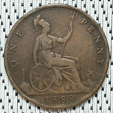 GREAT BRITAIN - 1888 - 1 Penny Victoria #CRU