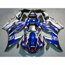 Injection Mold ABS Fairing Kit Fit For YAMAHA YZF R6 03-04 R6S 06-09 Blue White