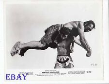 Steve Reeves barechested VINTAGE Photo Hercules Unchained