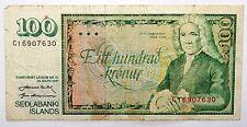 Billet 100 Kronur Iceland