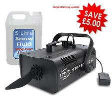 Lanta Snow Blizzard V3 Snow Effect Machine Wireless Remote Inc 5L Snow Fluid