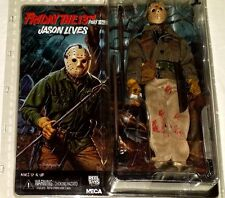 NECA Friday 13th part 6 JASON VOORHEES LIVES retro cloth horror action figure