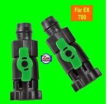 Durchflussventile Absperrhähne für Tetra Aussenfilter EX 700 Tetratec 2 Stück