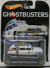GHOSTBUSTERS ECTO 1 ECTO1 CADDY AMBULANCE CARTOON MOVIE SHOW CAR HW HOT WHEELS