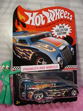 2016 Hot Wheels DRAG DAIRY☆blue;redline real riders☆Toys R Us Mail in promo