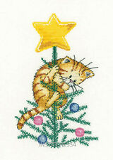 Heritage Crafts Cats Rule Christmas Cross Stitch Kit   Help