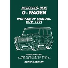 Mercedes-Benz G-Wagen Owners Workshop Manual 1979-1991 MBGWH NEW