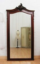 ENORMOUS ANTIQUE FRENCH MAHOGANY DRESSING MIRROR - C1920