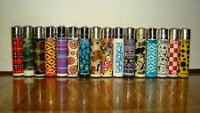 16 ACCENDINI CLIPPER MIX FANTASIA -CLIPPER LIGHTERS-MECHEROS-BRIQUET-FEUERZEUG