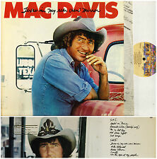MAC DAVIS texas in my rear view mirror NBLP 7239 promo sleeve 1980 LP PS EX/EX