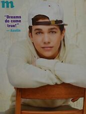 AUSTIN MAHONE - A4 Poster (ca. 20 x 27 cm) - Fan Sammlung Clippings Ausland USA