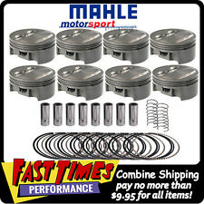 MAHLE PISTONS SBC Small Block Chevy Dome 388ci 4.060-bore 3.750-stroke 6.000-rod