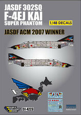 DXM decal 1/48 JASDF F-4EJ Kai 302nd SQ ACM 2007 Winner