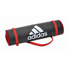 Adidas Exercise Gym Mat 10mm Thick Large Training Yoga Pilates Fitness Workout