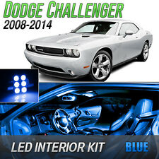 2008-2014 Dodge Challenger Blue LED Lights Interior Kit