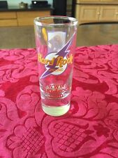 "Hard Rock Cafe ONLINE HIT ME WITH YOUR BEST SHOT 4"" Shot Glass Cordial"