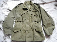 ORIGINAL VINTAGE US army ISSUE M65 M 65 FIELD COAT jacket VIETNAM OG-107 green m