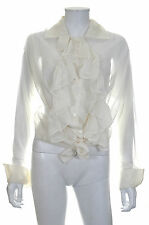 Vivienne Westwood Silk Victorian Blouse / White / RRP: £995.00
