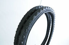PAIR MTB 24 x 1.75 (47-507) SEMI SLICK TYRES WITH FREE INNER TUBES