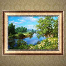 River DIY 5D Diamond Painting Embroidery Cross Stitch Crafts Home Decor