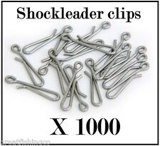 1000 Shockleader clips rig link clips good for flapper rigs and all sea rigs