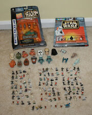 Huge Lot of Star Wars Galoob Micro Machines 110+ Figures Heads Ships - Some NIB