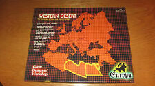 EUROPA  WESTERN DESERT by GDW - Unpunched!
