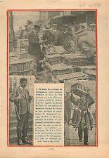 Champignons aux Halles de Paris Pierre Laval Président du Conseil Normandie 1931