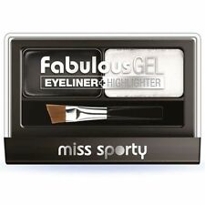 MIss Sporty Fabulous Lash Eyeliner Highlighter # 001 Black & White