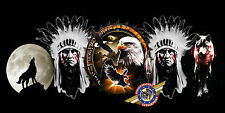 "American Indian, Wildlife Eagle, Dreamcatcher ""custom personalize License Plate"""