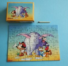 altes Master-line Mini Puzzle 54 Disney Mickey Mouse Goofy Donald Micky Maus