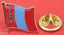 Mongolia Mongolian Flag Lapel Hat Cap Tie Pin Badge Brooch Монгол улс Mongol uls