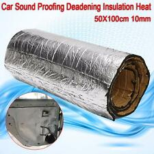 50X100cm Car Sound Proofing Deadening Insulation Heat 10mm Closed Cell Foam New