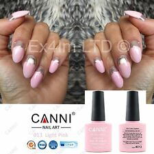 013 CANNI LIGHT PINK ROSE UV LED SOAK OFF GEL COLORS NAIL ART UK SELLER