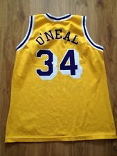 4.8/5 LOS ANGELES LAKERS BASKETBALL NBA CHAMPION #34 ONEAL JERSEY SHIRT