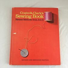 VINTAGE Coats & Clark's Sewing Book Hardcover 1967 Learn HOW TO SEW Instructions