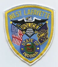 West Lafayette Police, Indiana, USA Shoulder Flash/Patch