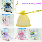 Pure Color Wedding Supplies Wedding Sugar Candy Bags Jewelry Gift Yarn Bags NEW
