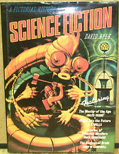 A Pictorial History of Science Fiction by David A. Kyle-First Edition/DJ-1979