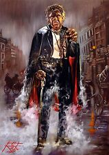 DR JEKYLL AND MR HYDE / SUPER HEAVYWEIGHT RICK MELTON FINE ART GICLEE PRINT