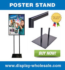 """Poster Stand Sign Holder Bulletin Display 22"""" X 28"""""""